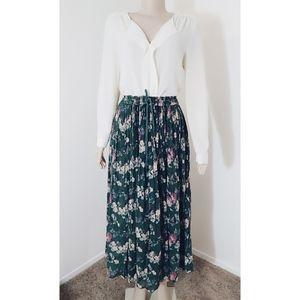 Beautiful  Vintage Basic Editions Boho Skirt